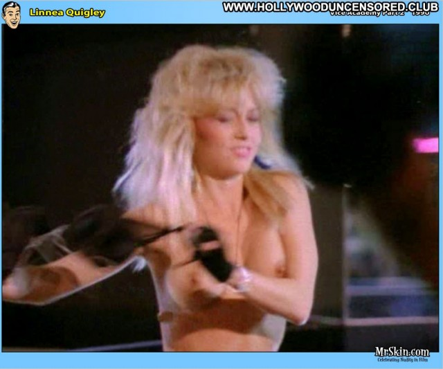 Linnea Quigley Vice Academy Posing Hot Doll Celebrity Nice Blonde