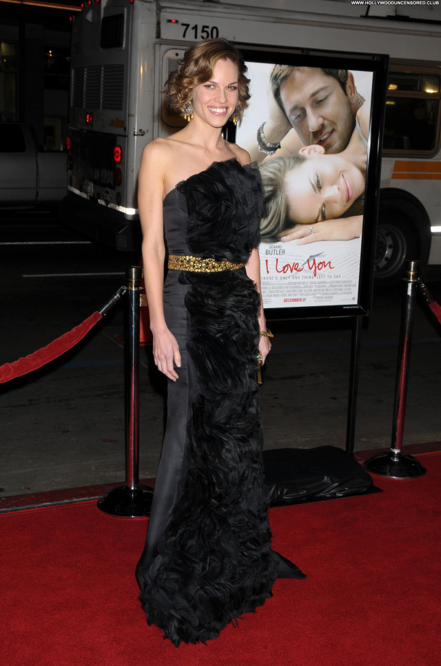 Hilary Swank No Source Babe Posing Hot Celebrity Beautiful Doll