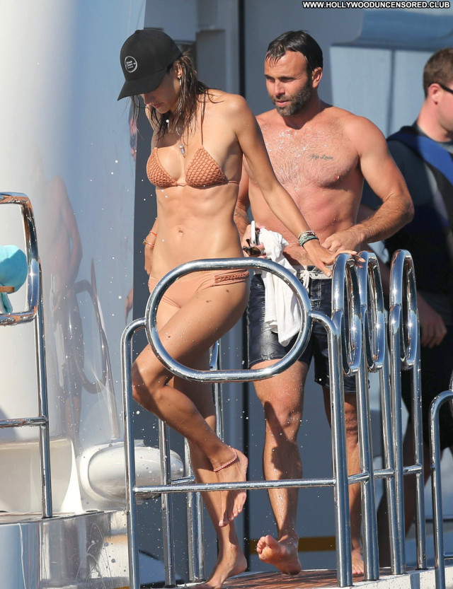 Alessandra Ambrosio No Source Candids Bikini Babe France Celebrity