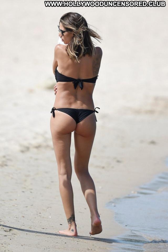 Melissa Satta No Source  Candids Babe Bikini Posing Hot Beautiful