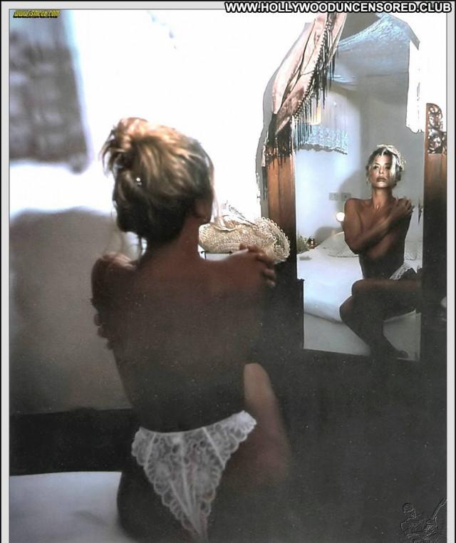 Alba Parietti No Source Actress Babe Sexy Beautiful Italian Posing