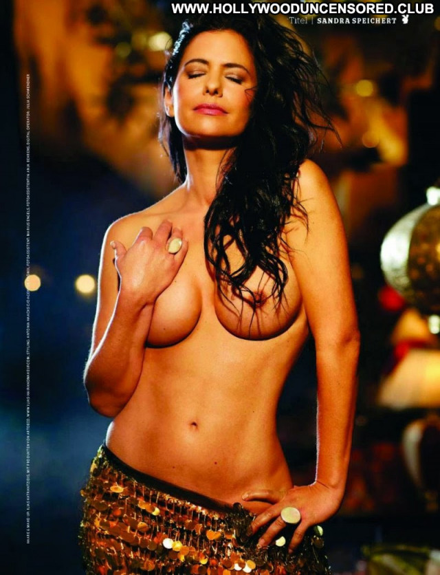 Sandra Speichert No Source Posing Hot Babe Celebrity German Actress
