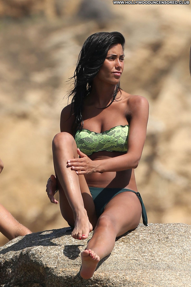Federica Nargi The Beach Posing Hot Candids Beach Babe Bikini