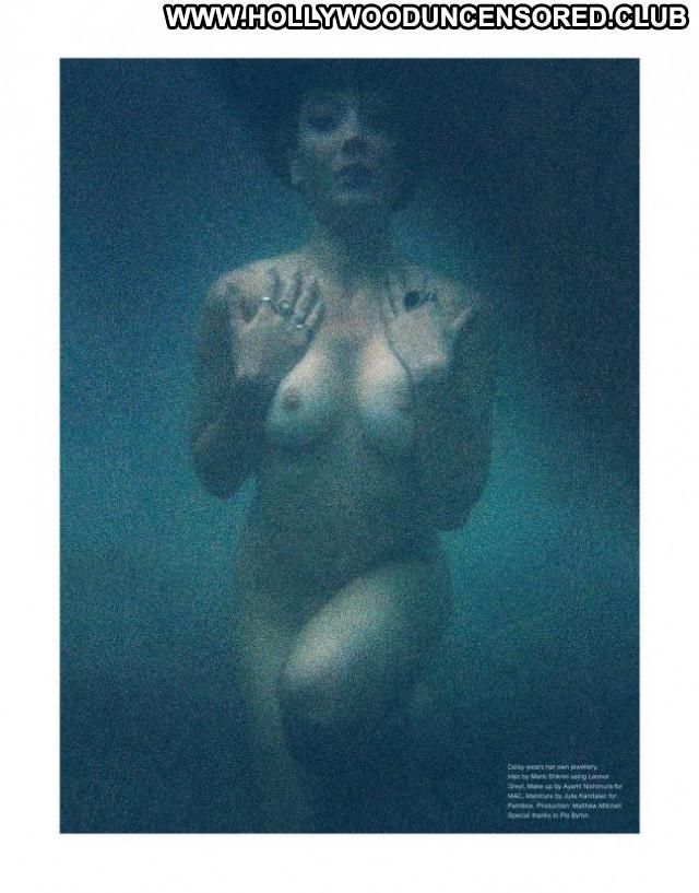 Daisy Lowe No Source Nude Magazine Beautiful Posing Hot Celebrity Babe