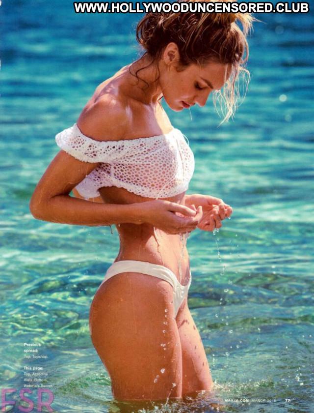 Candice Swanepoel Maxim Magazine Celebrity Beautiful Babe Posing Hot