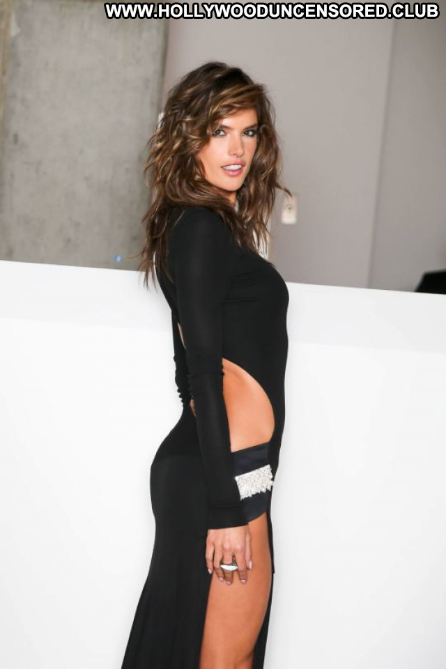 Alessandra Ambrosio No Source Babe Sexy Sexy Dress Celebrity Posing