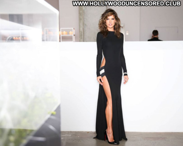 Alessandra Ambrosio No Source Babe Celebrity Beautiful Sexy Dress