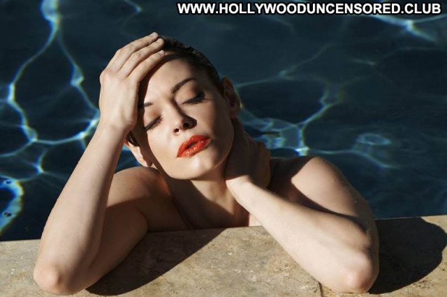 Rose Mcgowan No Source Beautiful Magazine Nude Photoshoot Posing Hot