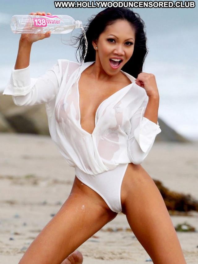 Caya Hefner Model Celebrity Photoshoot Beautiful Wet Babe Posing Hot
