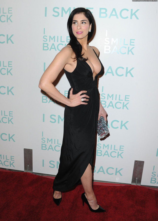 Sarah Silverman Actress Sexy Posing Hot Smile Beautiful American