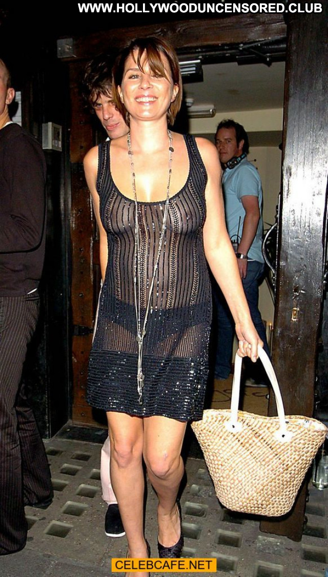 Sadie Frost No Source See Through Nude Boobs Celebrity Posing Hot