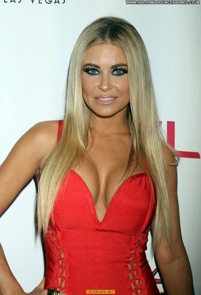Carmen Electra Las Vegas Cleavage Beautiful Posing Hot Celebrity Babe