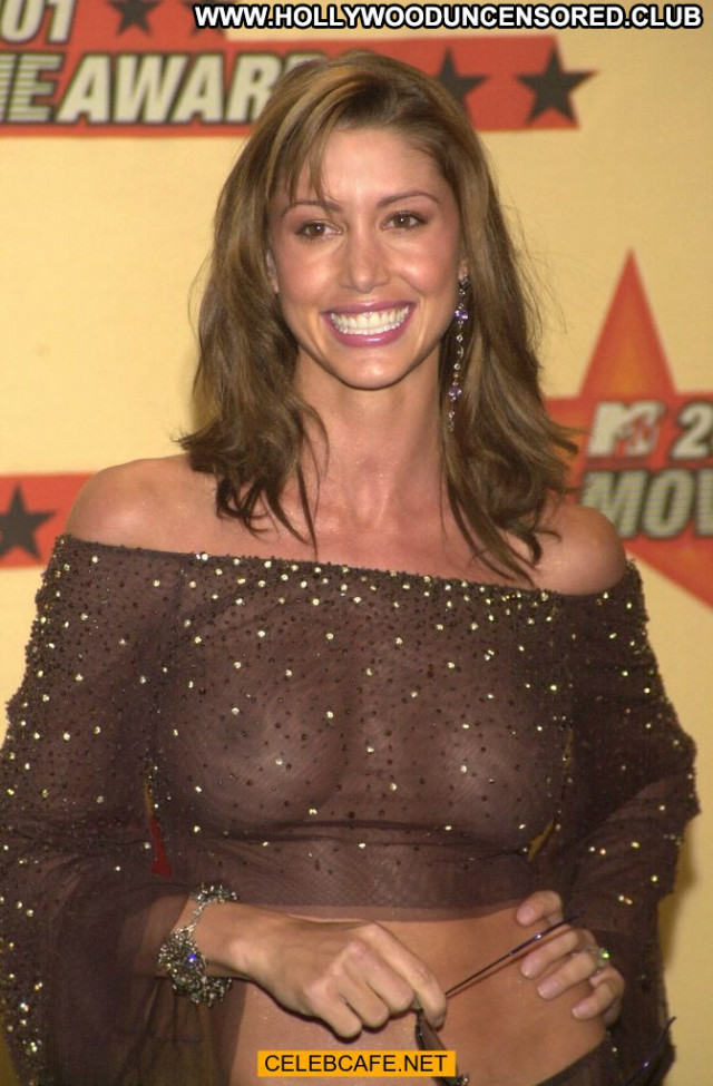 Shannon Elizabeth Mtv Movie Awards See Through Movie Babe Awards