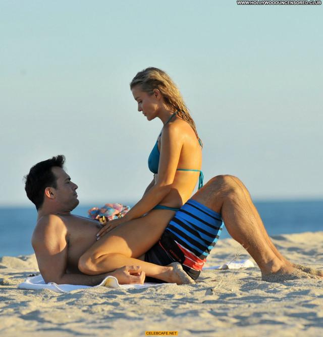 Joanna Krupa No Source Celebrity Beautiful Pokies Bikini Babe Wet