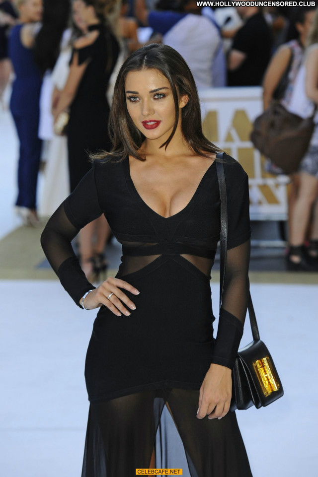 Amy Jackson Magic Mike  Posing Hot Sex Cleavage Babe Sexy Celebrity