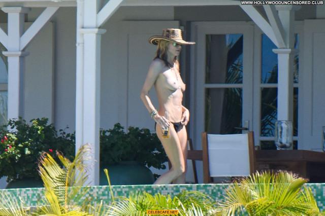 Heidi Klum No Source Candids Candid Celebrity Beautiful Topless Babe