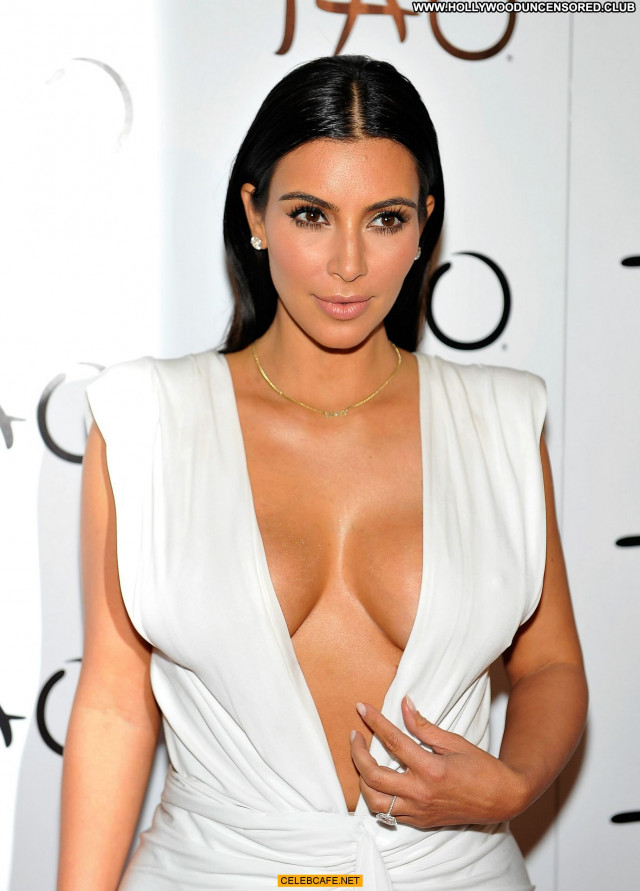 Kim Kardashian No Source Posing Hot Celebrity Beautiful Birthday Babe
