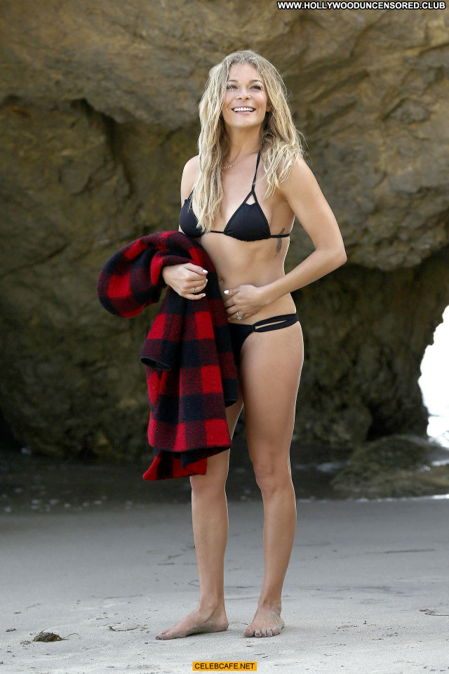 Leann Rimes Malibu Beach Bikini Beach Malibu Babe Beautiful Posing