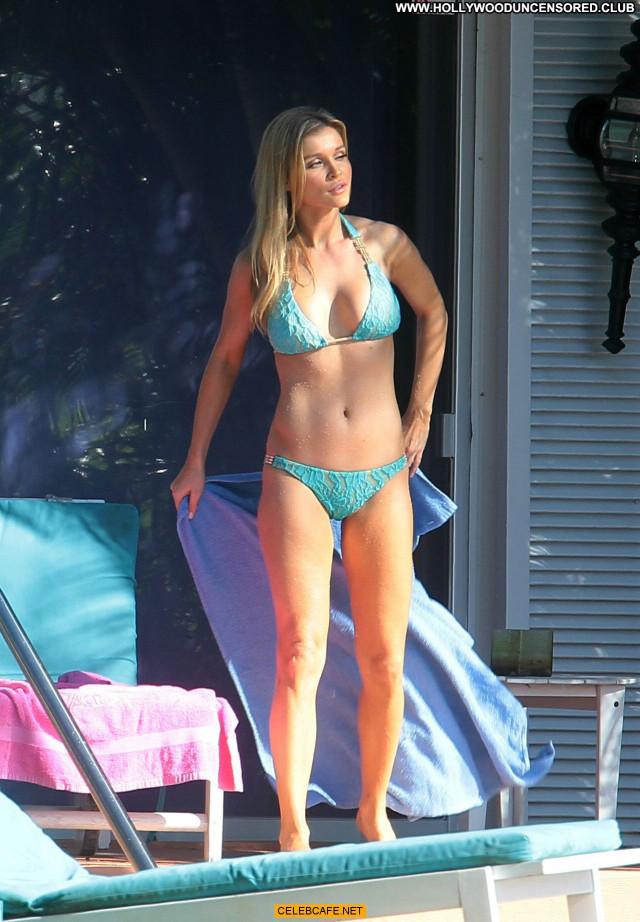 Joanna Krupa Miami Beach Babe Posing Hot Bikini Celebrity Beautiful