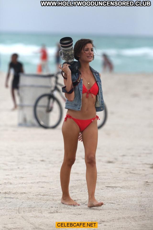 Logan Fazio Miami Beach Bikini Celebrity Babe Beach Beautiful Posing
