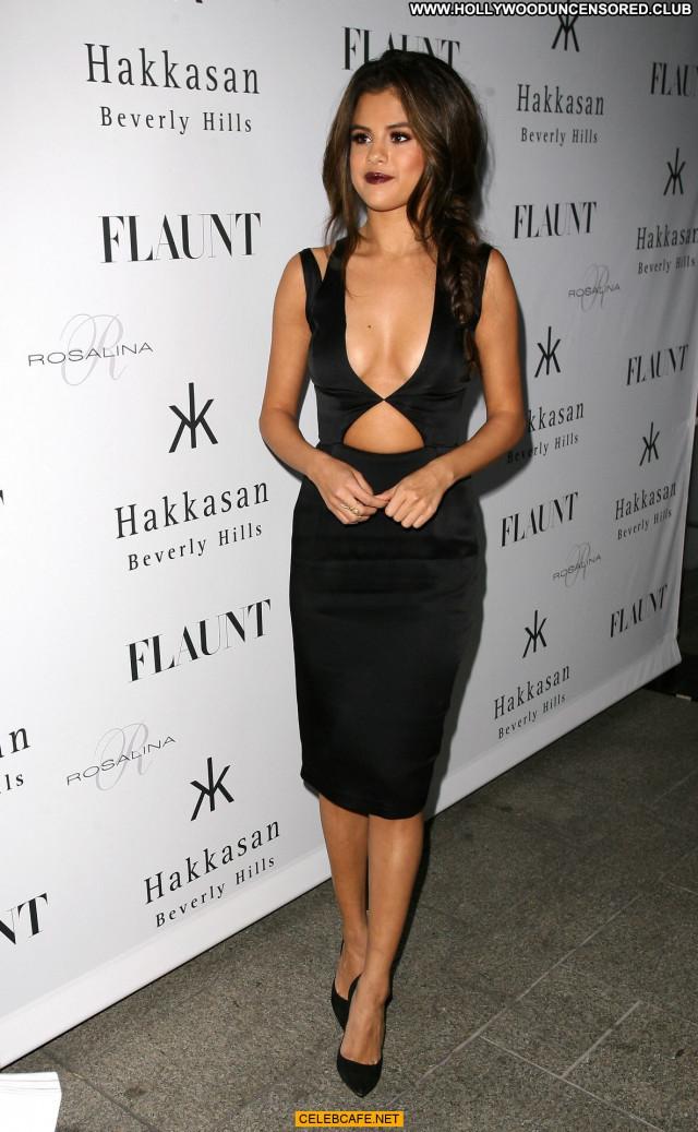 Selena Gomez Beverly Hills Beautiful Babe Magazine Party Celebrity
