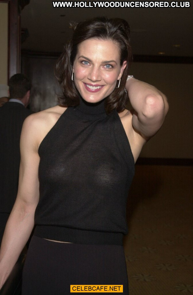 Terry Farrell No Source  Celebrity Posing Hot Babe Bra See Through