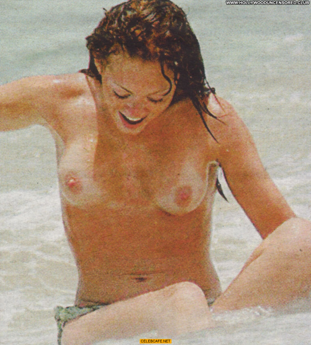 Natasha Hamilton Paparazzi Shots Celebrity Beautiful Toples Posing