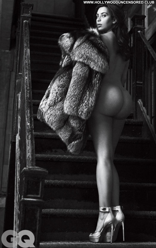 Kim Kardashian Photo Shoot Posing Hot Heels Babe Leather Beautiful