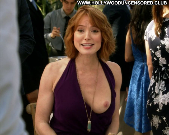 Alicia Witt House Of Lies Party Celebrity Posing Hot Bar Tits