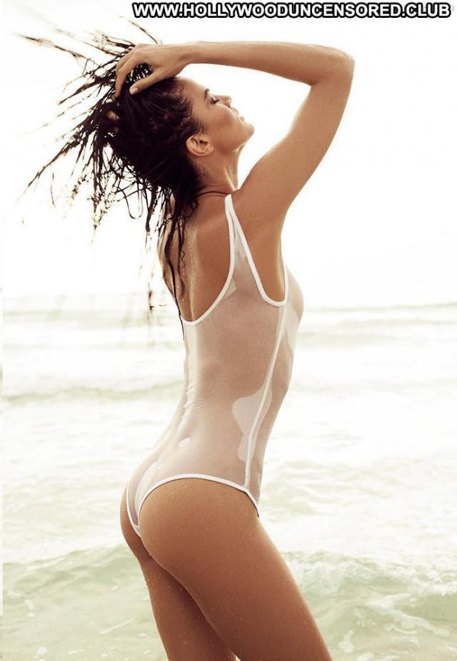 Barbara Fialho Photo Shoot See Through Celebrity Swimsuit Big Tits