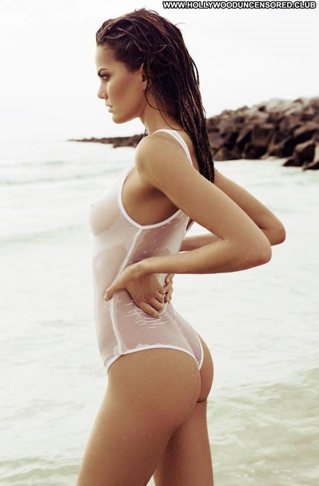 Barbara Fialho Photo Shoot Babe Beach Breasts Bra Swimsuit Celebrity