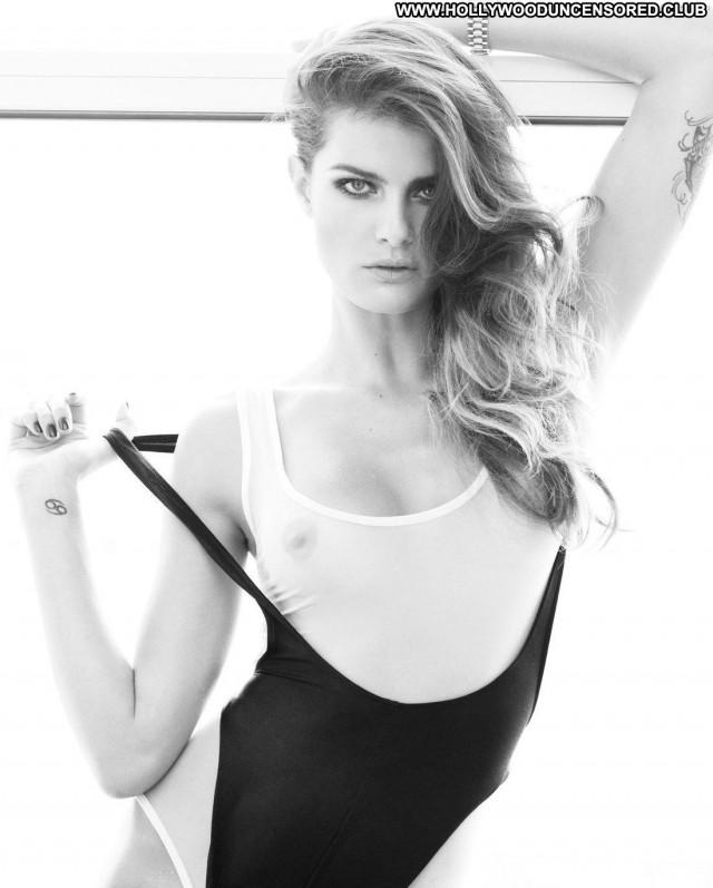 Isabeli Fontana Photo Shoot Celebrity Tattoo Nude Posing Hot Breasts