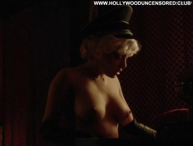 Elena Satine Magic City Posing Hot Breasts Toples Big Tits Celebrity