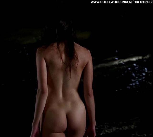 Jamie Gray Hyder True Blood  Nude Bush Bus Nipples Toples Breasts