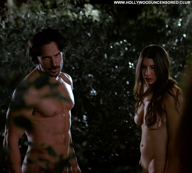 Jamie Gray Hyder True Blood Forest Topless Celebrity Bus Big Tits