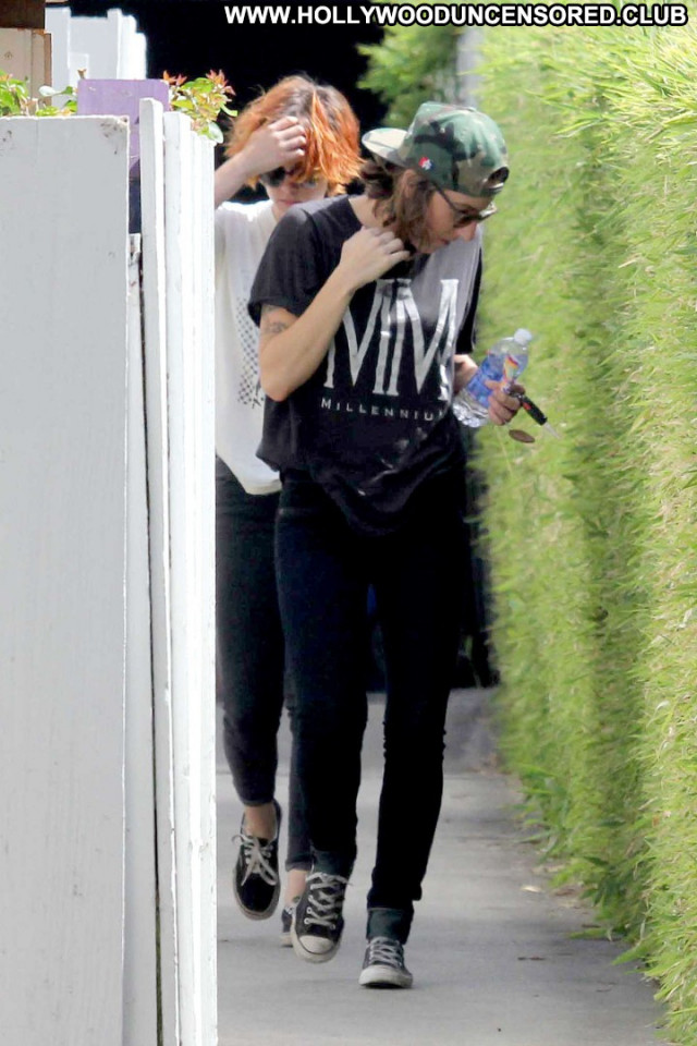 Kristen Stewart Beautiful Posing Hot Babe Paparazzi Celebrity