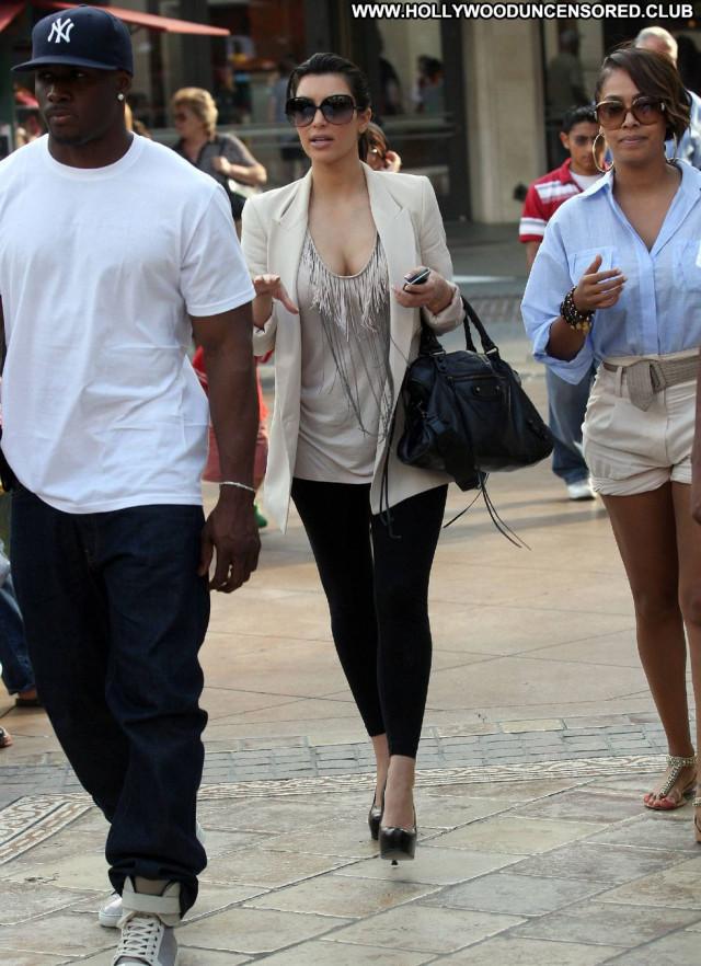 Kim Kardashian Los Angeles Los Angeles Babe Candid Posing Hot