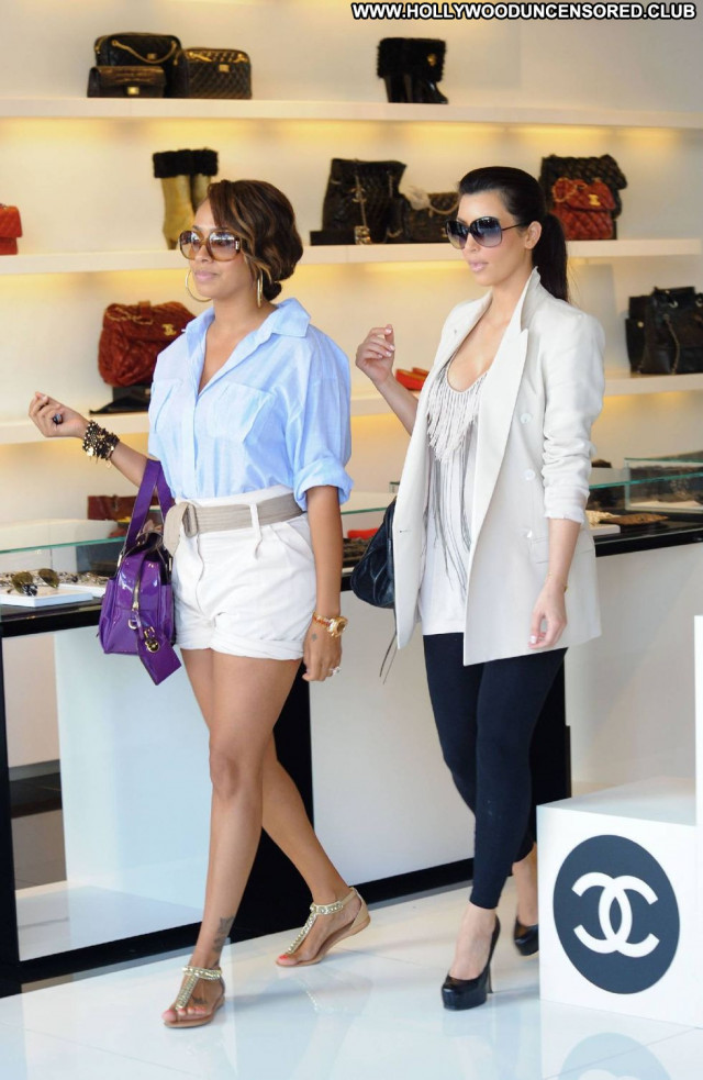 Kim Kardashian Los Angeles Paparazzi Angel Cleavage Candid Celebrity