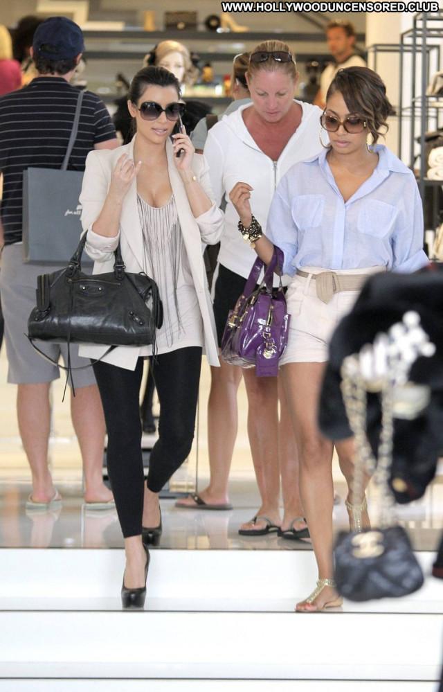 Kim Kardashian Los Angeles Paparazzi Celebrity Posing Hot Babe