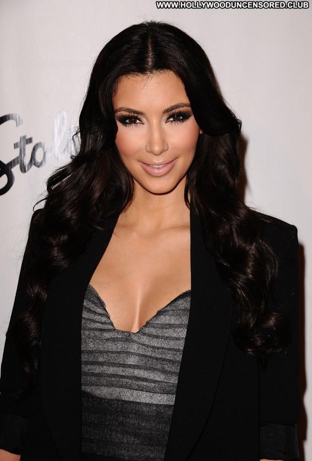 Kim Kardashian Fashion Show Celebrity Beautiful Babe Posing Hot