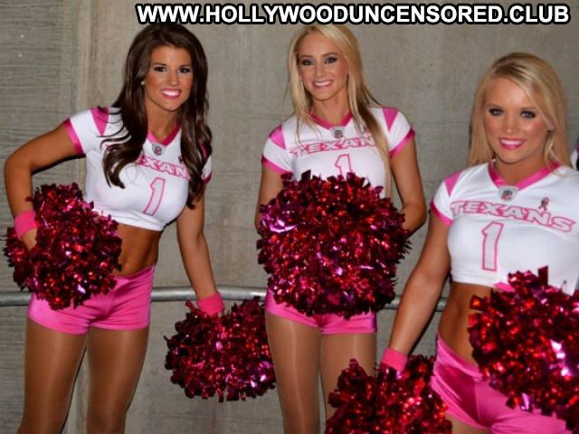 Houston Texans Cheerleaders Paparazzi Posing Hot Celebrity