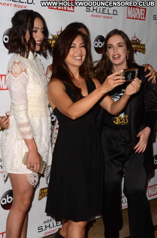 Chloe Bennet Los Angeles Posing Hot Paparazzi Angel Beautiful