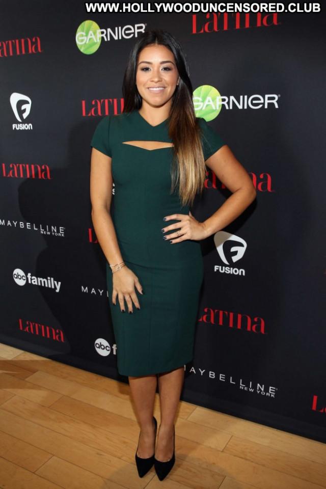 Gina Rodriguez West Hollywood Babe Latina Posing Hot Paparazzi Party
