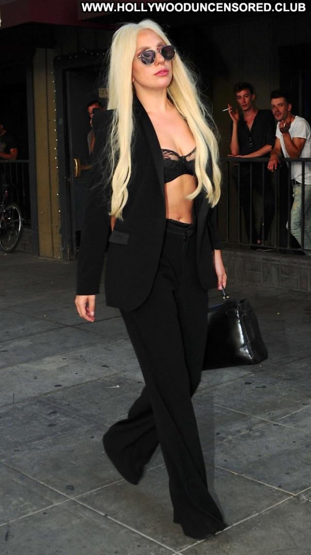Lady Gaga West Hollywood Hollywood Celebrity Babe Beautiful Paparazzi
