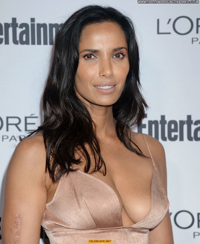 Padma Lakshmi Pre Emmy Party Beautiful Party Babe Posing Hot Sexy