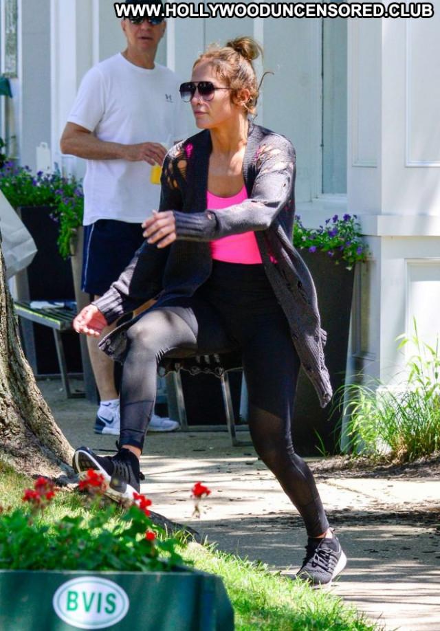 Jennifer Lopez No Source  Celebrity Gym Paparazzi Beautiful Babe