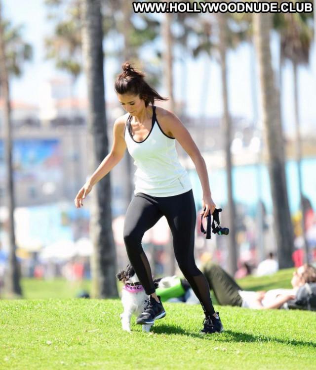 Nina Dobrev Los Angeles Posing Hot Angel Beautiful Park Los Angeles