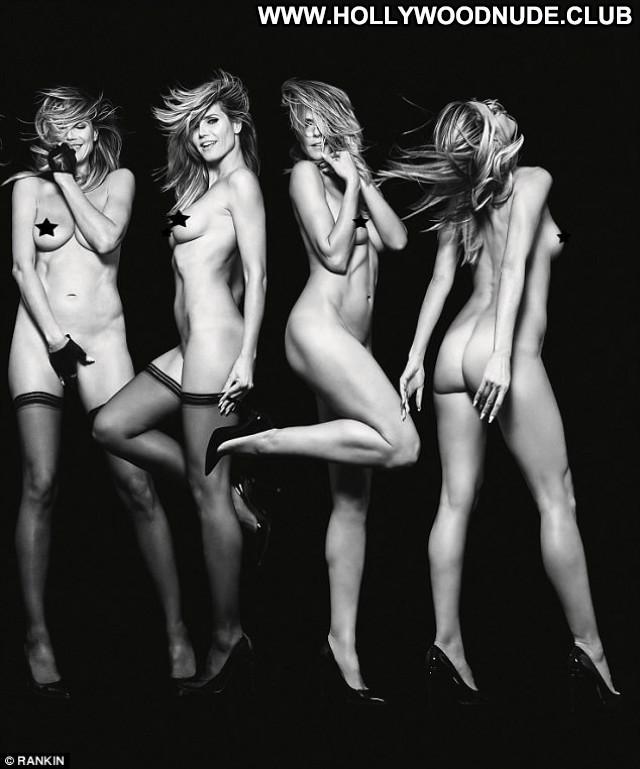 Heidi Klum Sports Illustrated Swimsuit Park Swimsuit Posing Hot Angel