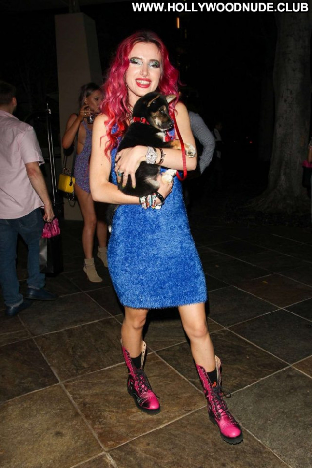 Bella Thorne Beverly Hills Paparazzi Celebrity Posing Hot Beautiful