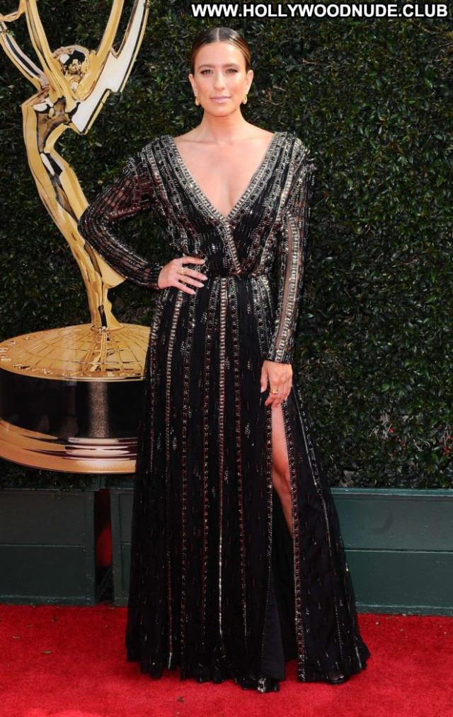 Renee Bargh Emmy Awards Awards Beautiful Celebrity Babe Posing Hot